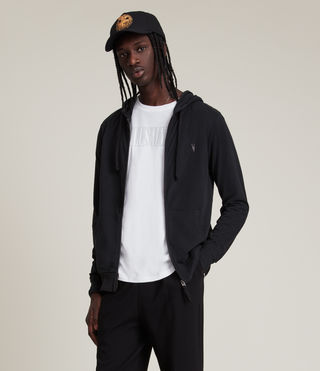 Men's Brace Hoody (Jet Black) - product_image_alt_text_1