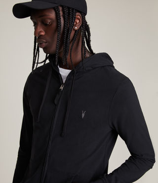 Men's Brace Hoody (Jet Black) - product_image_alt_text_2