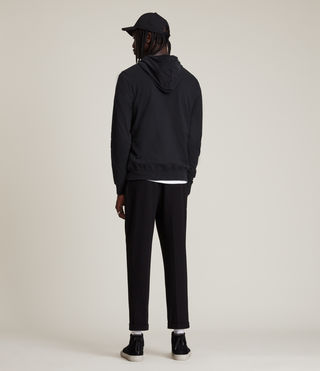 Men's Brace Hoody (Jet Black) - product_image_alt_text_4
