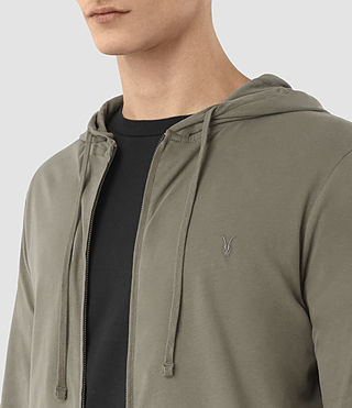 Hommes Sweat à capuche Brace (QUARRY GREY) - product_image_alt_text_2