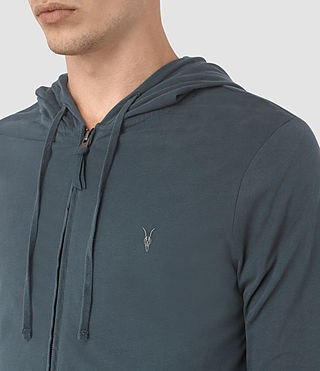 Hombres Brace Hoody (LEAD BLUE) - product_image_alt_text_2
