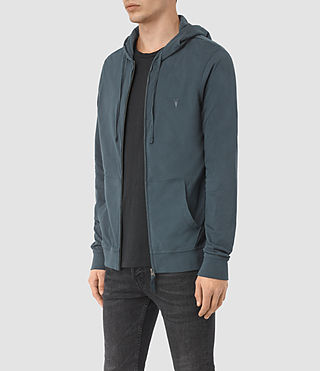 Hombres Brace Hoody (LEAD BLUE) - product_image_alt_text_3