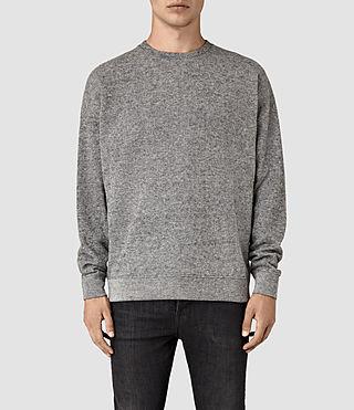 Hombres Ryshe Crew Sweatshirt (Cinder Marl)
