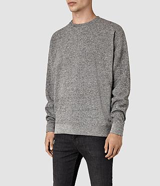 Mens Ryshe Crew Sweatshirt (Cinder Marl) - product_image_alt_text_2