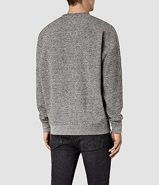 Mens Ryshe Crew Sweatshirt (Cinder Marl) - product_image_alt_text_3