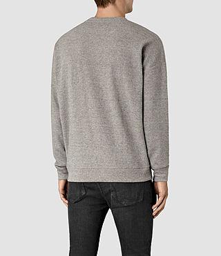 Hombres Ryshe Crew Sweatshirt (Taupe Marl) - product_image_alt_text_3