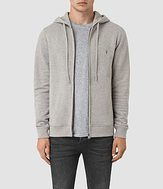 Hombres Wolfe Hoody (Smoke Marl)