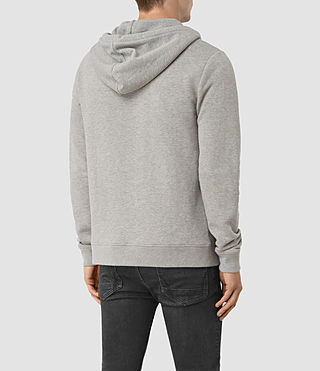 Hommes Wolfe Hoody (Smoke Marl) - product_image_alt_text_3
