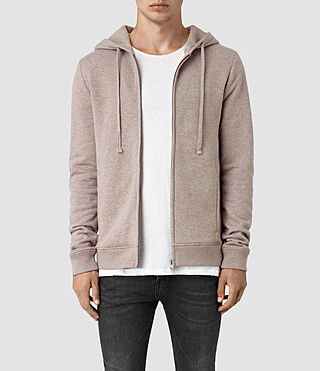 Hommes Wolfe Hoody (Taupe Marl)