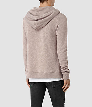Hommes Wolfe Hoody (Taupe Marl) - product_image_alt_text_3
