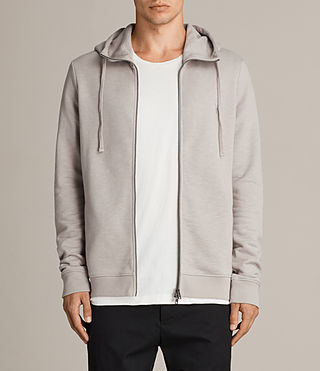 Men's Lutra Hoody (Pebble Grey) - Image 1