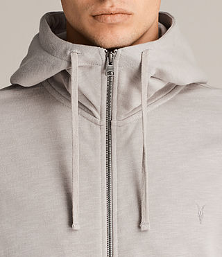Men's Lutra Hoody (Pebble Grey) - Image 2