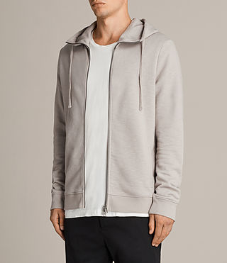 Men's Lutra Hoody (Pebble Grey) - Image 4