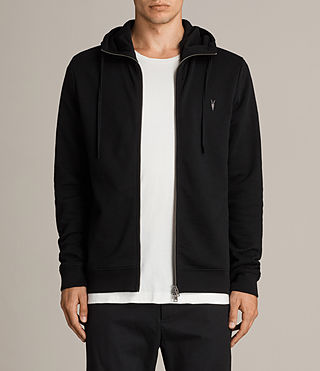 Hombres Lutra Hoody (Jet Black)
