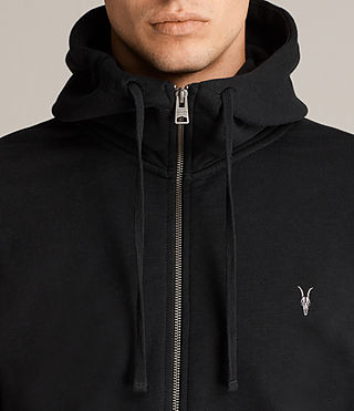 Men's Lutra Hoody (Jet Black) - product_image_alt_text_2