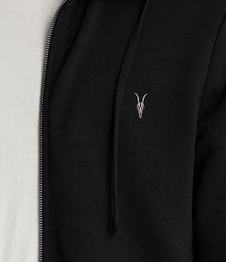 Men's Lutra Hoody (Jet Black) - product_image_alt_text_3