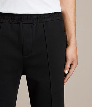 Men's Sauren Sweatpant (Jet Black) - product_image_alt_text_2