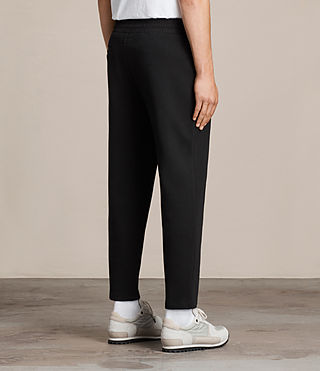 Men's Sauren Sweatpant (Jet Black) - product_image_alt_text_4