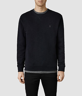 Mens Wilde Crew Sweatshirt (Ink)