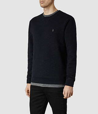 Uomo Wilde Crew Sweatshirt (Ink) - product_image_alt_text_2