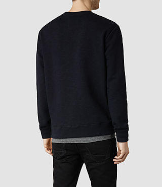 Mens Wilde Crew Sweatshirt (INK NAVY) - product_image_alt_text_3