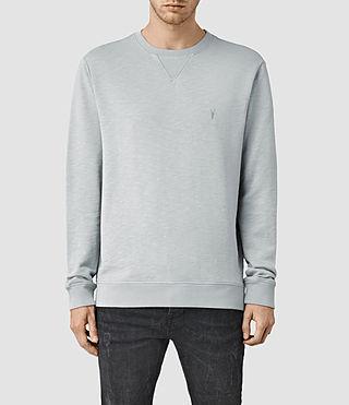 Mens Wilde Crew Sweatshirt (MIRAGE BLUE)