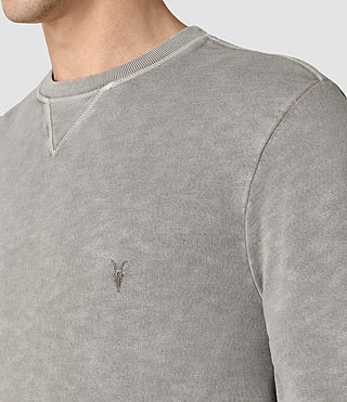 Men's Wilde Crew Sweatshirt (Vntg Steeple Grey) - product_image_alt_text_2
