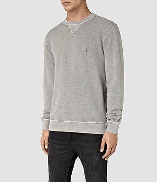 Men's Wilde Crew Sweatshirt (Vntg Steeple Grey) - product_image_alt_text_3