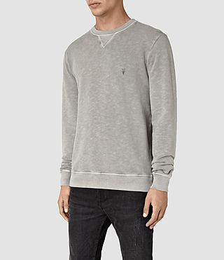 Hommes Wilde Crew Sweatshirt (Vntg Steeple Grey) - product_image_alt_text_3