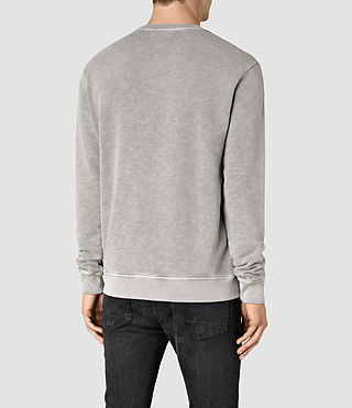 Men's Wilde Crew Sweatshirt (Vntg Steeple Grey) - product_image_alt_text_4