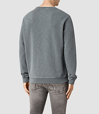 Hommes Wilde Crew Sweatshirt (WASHED OCEAN BLUE) - product_image_alt_text_3