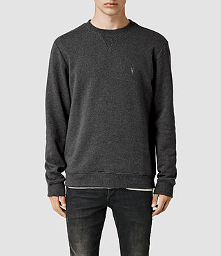 Hombre Wilde Crew Sweatshirt (Charcoal Marl) - product_image_alt_text_1