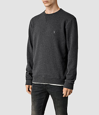 Hombres Wilde Crew Sweatshirt (Charcoal Marl) - product_image_alt_text_2