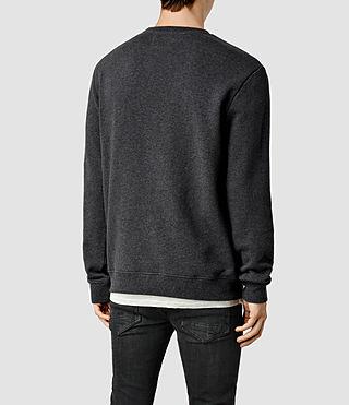 Mens Wilde Crew Sweatshirt (Charcoal Marl) - product_image_alt_text_3