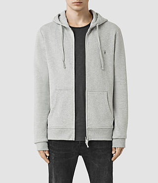 Hombre Wilde Hoody (Grey Marl) - product_image_alt_text_1