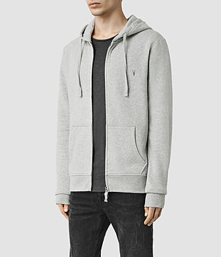 Men's Wilde Hoody (Grey Marl) - product_image_alt_text_2