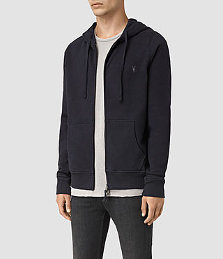 Hommes Wilde Hoody (INK NAVY) - product_image_alt_text_3