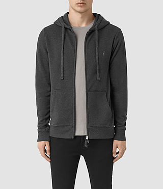 Mens Wilde Hoody (Charcoal Marl) - product_image_alt_text_1
