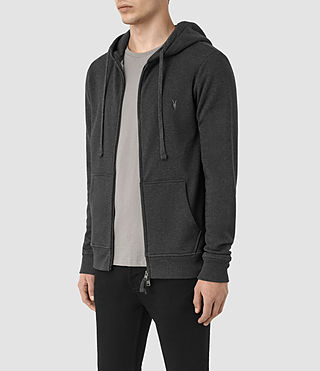 Mens Wilde Hoody (Charcoal Marl) - product_image_alt_text_3