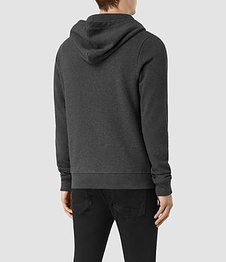 Mens Wilde Hoody (Charcoal Marl) - product_image_alt_text_4