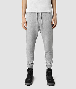 Mens Wilde Sweatpant (Grey Marl) - product_image_alt_text_1