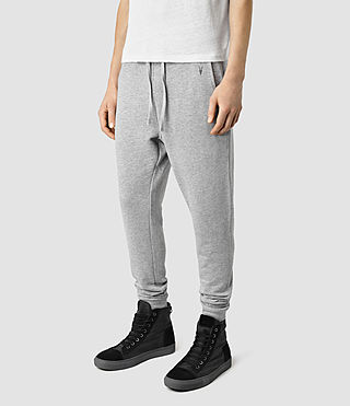 Hombres Wilde Sweatpant (Grey Marl) - product_image_alt_text_3