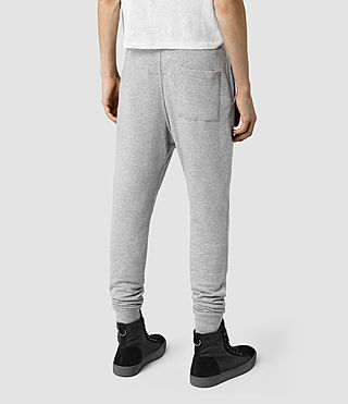 Hombres Wilde Sweatpant (Grey Marl) - product_image_alt_text_4