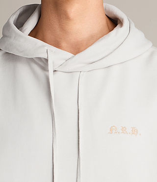 Men's Meyer Hoody (IVORY GREY) - Image 3