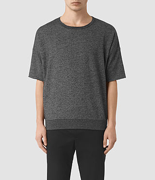 Hombre Sonial Short Sleeve Crew T-Shirt (Black)