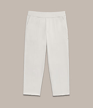 Men's Arvid Sweat Trousers (IVORY GREY) - Image 2