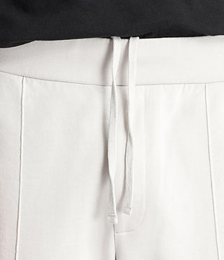 Men's Arvid Sweat Trousers (IVORY GREY) - Image 4