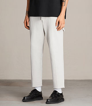 Hombre Arvid Trousers (IVORY GREY) - product_image_alt_text_5