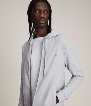 Men's Raven Hoody (Grey Marl) - Image 2