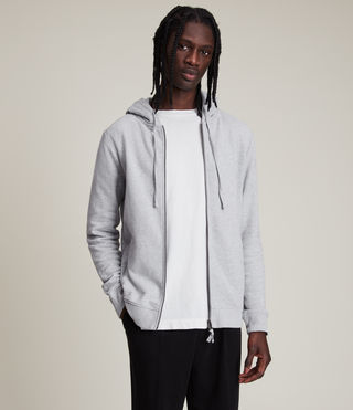 Men's Raven Hoody (Grey Marl) - Image 3